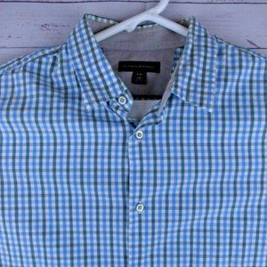 Banana Republic Men's L LS Button Front Shirt